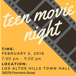 Teen Movie Night 2018