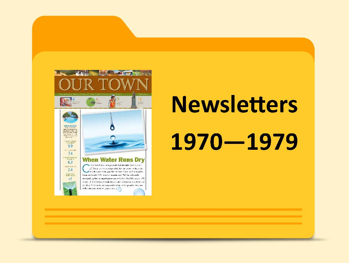 Newsletters -1970 - 1979