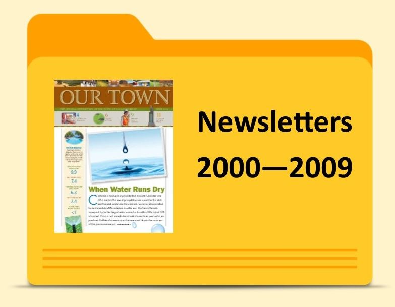 Newsletters -2000 -2009