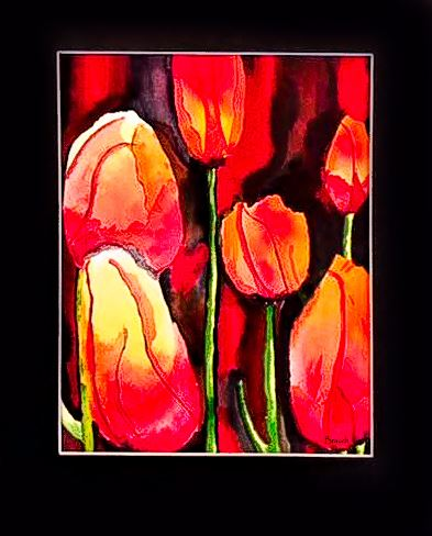 Tulips by Diane Brauch - March 2018