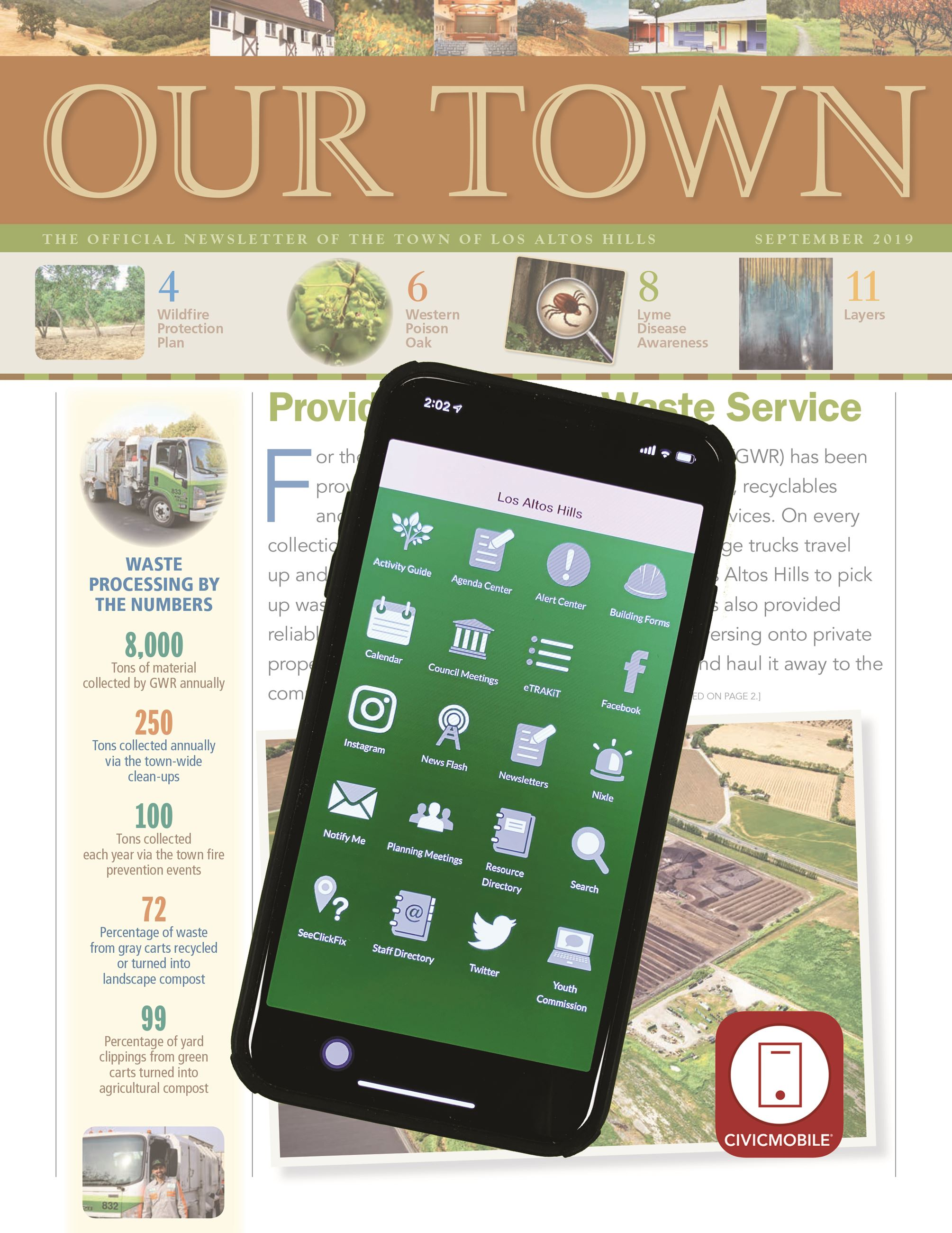 Phone on Our Town image
