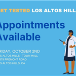 Get Tested Los Altos Hills Flyer 10.2.20