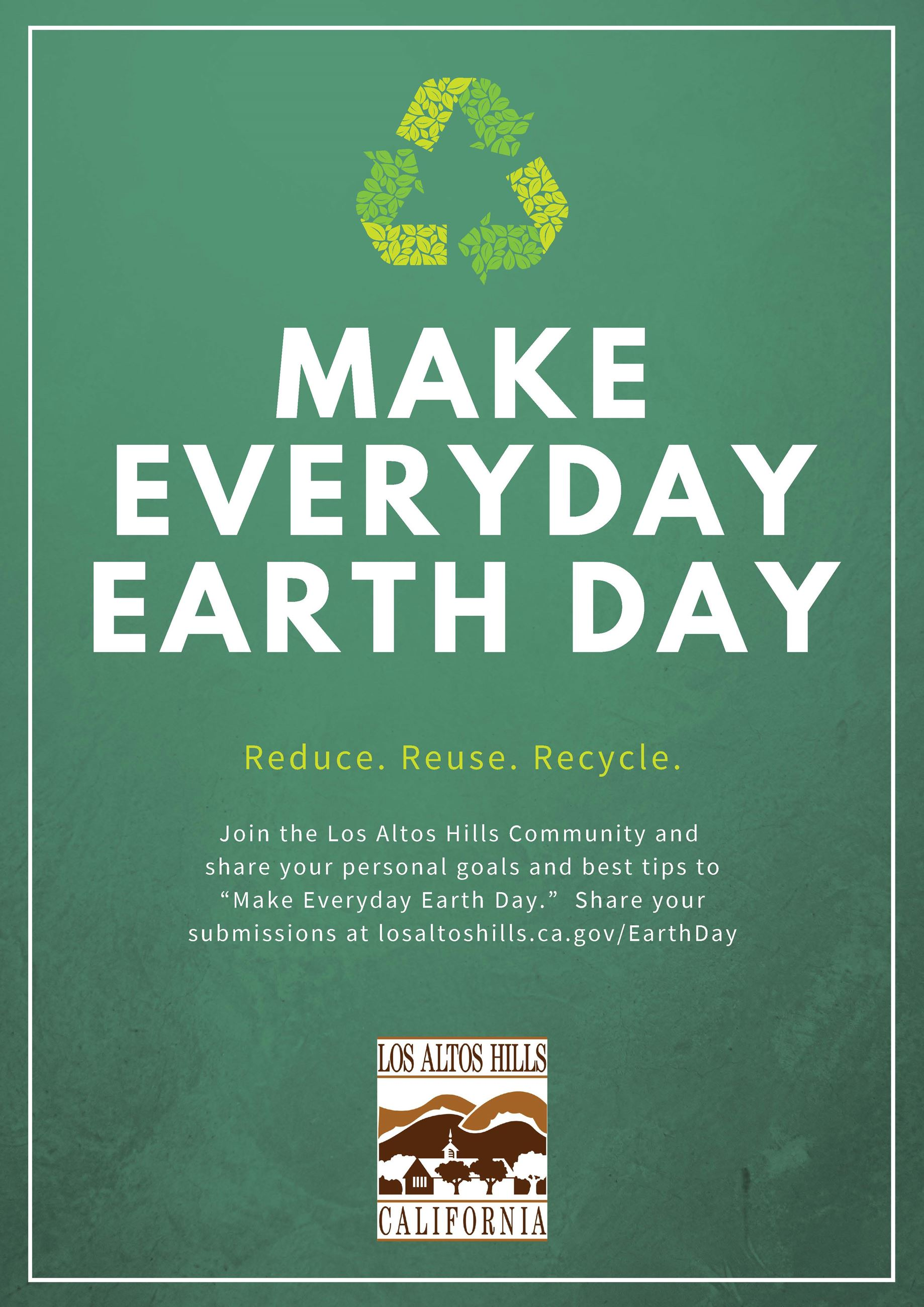 Make Everyday Earth Day 2021 Flyer